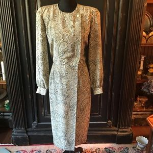 Liz Claiborne vintage wrap dress